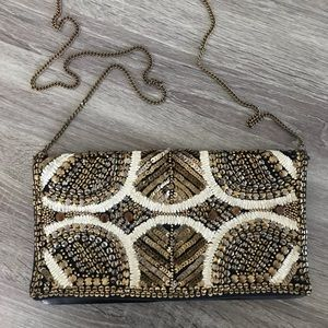 Embellished Chain Purse